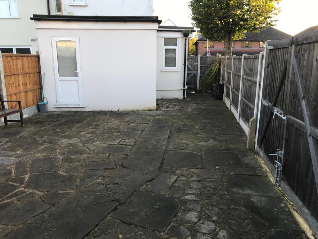 A-Z Clean Repair - Patio tidy up- photos before and after. (2)