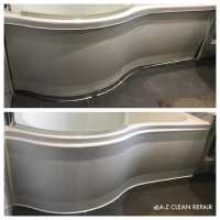 A-Z Clean Repair bath silicone replacement and panel reinstatement. (2)